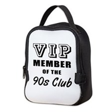 90's Club Birthday Neoprene Lunch Bag