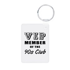 90's Club Birthday Keychains