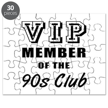 90's Club Birthday Puzzle