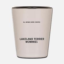 Lakeland Terrier dog breed designs Shot Glass