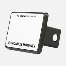 Komondor dog breed designs Hitch Cover