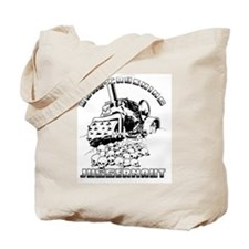 Bone Crushing Juggernaut Tote Bag