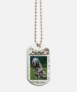 Bergamasco Dog Christmas Dog Tags