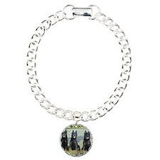 Beauceron Dog Christmas Bracelet