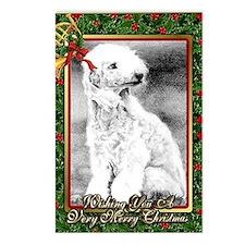 Bedlington Terrier Dog Ch Postcards (Package of 8)