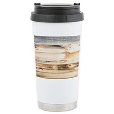 Wood Texture Travel Mug