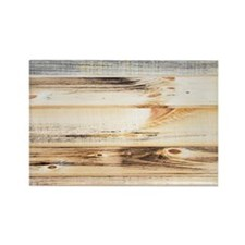 Wood Texture Rectangle Magnet