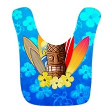 Tiki And Surfboards Bib