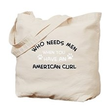 American curl gifts Tote Bag