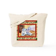 Akbash Dog Christmas Tote Bag