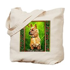 Australian Terrier Dog Christmas Tote Bag