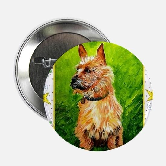 "Australian Terrier Dog Christmas 2.25"" Button"