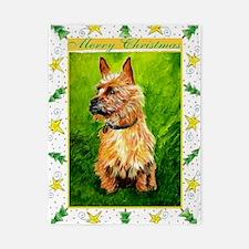 Australian Terrier Dog Christmas Twin Duvet