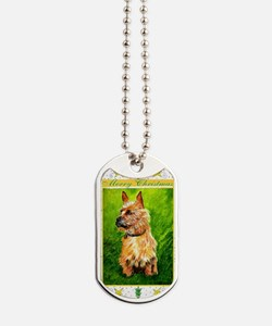 Australian Terrier Dog Christmas Dog Tags