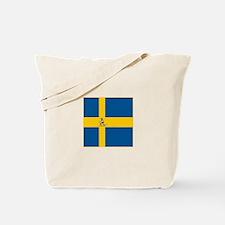 Team Biathlon Sweden Tote Bag
