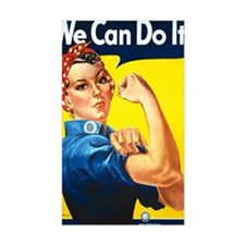 Rosie the Riviter We Can Do It Decal