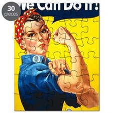 Rosie the Riviter We Can Do It Puzzle