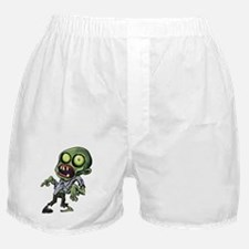 Scary cartoon zombie Boxer Shorts