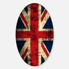 Union Jack Grunge Distressed Decal