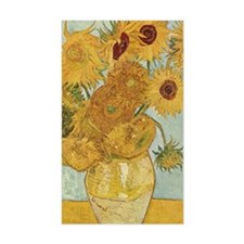 Van Gogh Sunflowers Decal