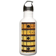 Vintage Guitar Frets Water Bottle