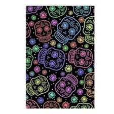 Day Of The Dead Pattern Postcards (Package of 8)