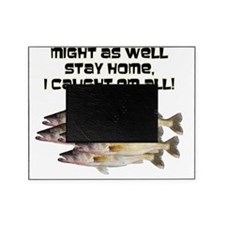 Walleye humor Picture Frame