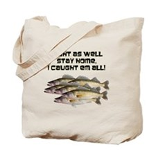 Walleye humor Tote Bag