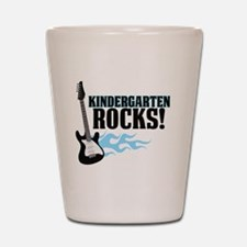 Kingergarten Rocks Shot Glass