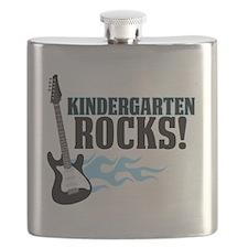 Kingergarten Rocks Flask