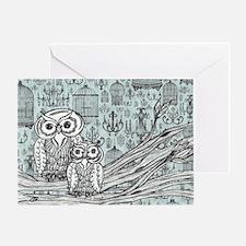 Owls 46 Greeting Card