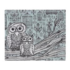 Owls 46 Throw Blanket