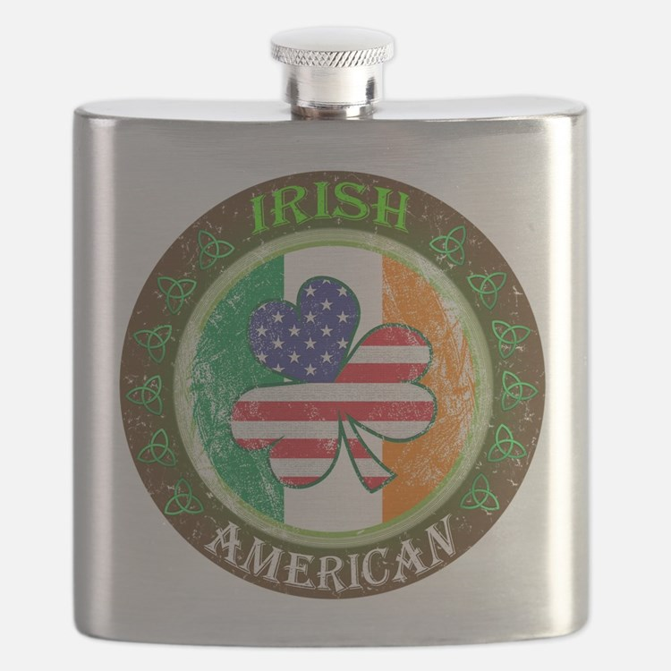 Irish American Flask