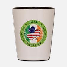 Irish American Shot Glass