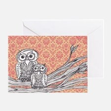 Owls 47 Greeting Card