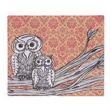 Owls 47 Throw Blanket