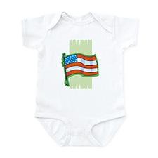 Pastel Green Flag Infant Bodysuit