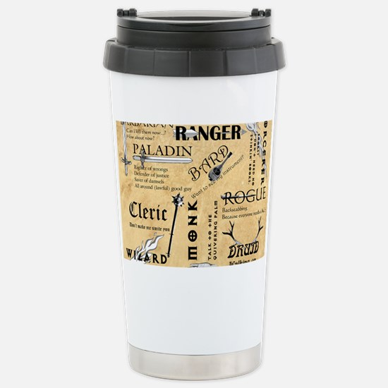 Classes Stainless Steel Travel Mug