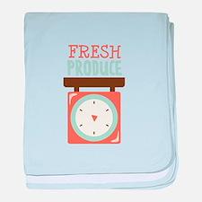 Fresh Produce baby blanket