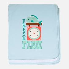 Fresh Fish baby blanket