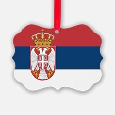 Serbia Flag Ornament