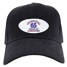 65 years old birthday design Baseball Hat