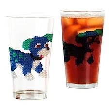 Hama Puppy (Blue) Drinking Glass