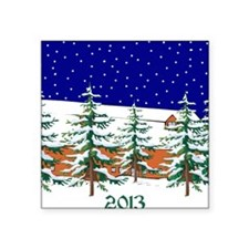 """2013 Square Sticker 3"""" x 3"""""""