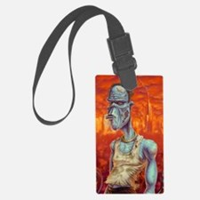 9x12_print_ZombiePortrait_2400x1 Luggage Tag