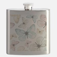 Beautiful Butterflies Flask