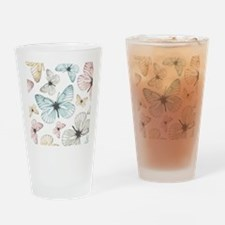 Beautiful Butterflies Drinking Glass