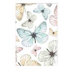 Beautiful Butterflies Postcards (Package of 8)