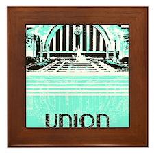 Union Terminal Framed Tile