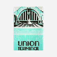 Union Terminal Rectangle Magnet